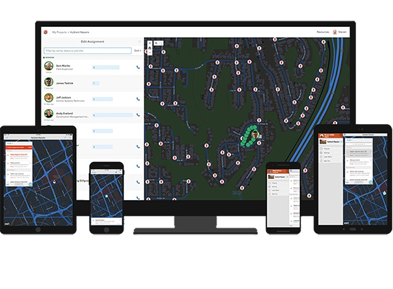 Workforce for ArcGIS - full picture