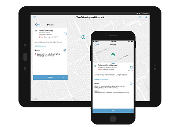 Workforce for ArcGIS - smart devices
