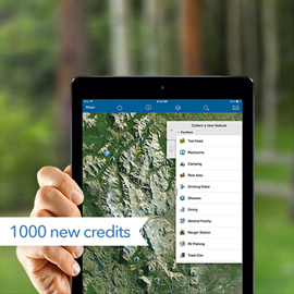 ArcGIS Online service credits