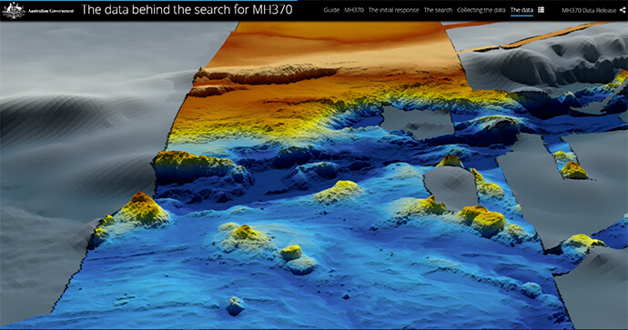 The data behind the search for MH370