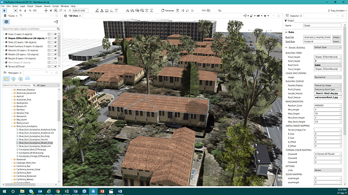 Preparing Smart Cities for VR using Geoscape data in Esri CityEngine