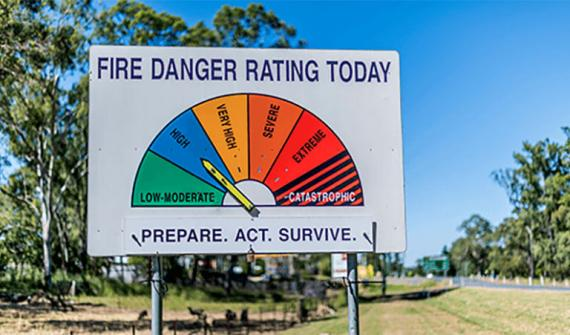 A new era in bushfire preparedness - Card