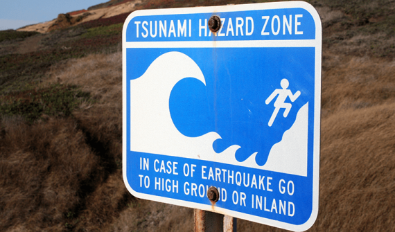 Tsunami in New South Wales