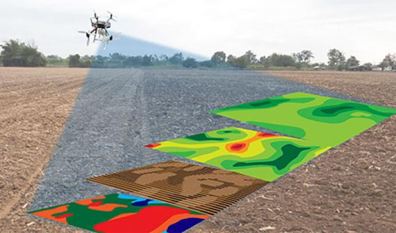 Using drones in agriculture – Card