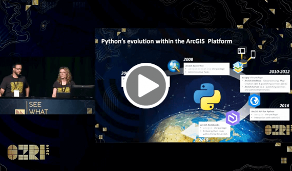 Python unleashed: New capabilities across the ArcGIS platform card