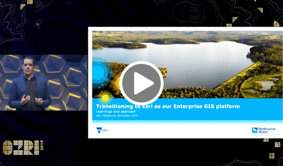 Transition to Esri Enterprise card