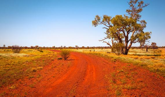 communities outback nothern territory NT road track desert_card