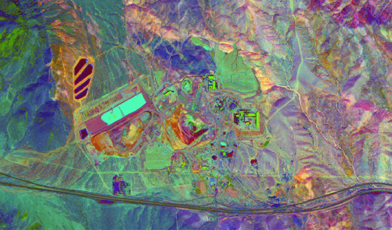 Mineral exploration from space card image