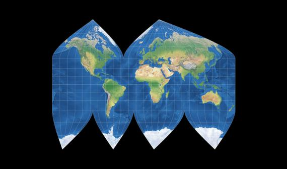 Compare map projections card content